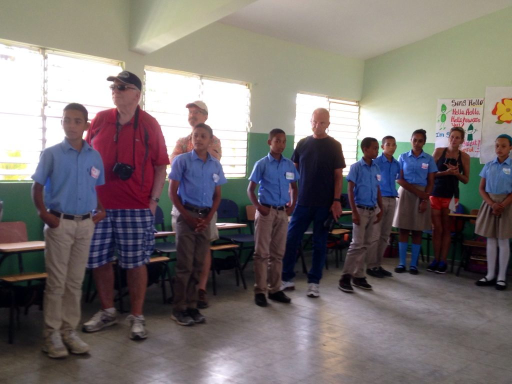 Dominican Republic schoolchildren JO photo