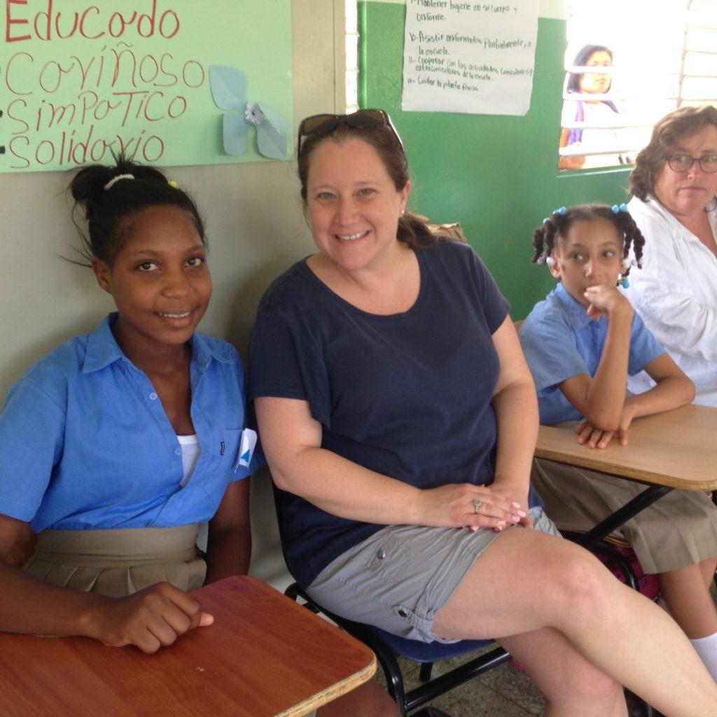 Dominican Republic JO in school CREDIT Anne Kalosh