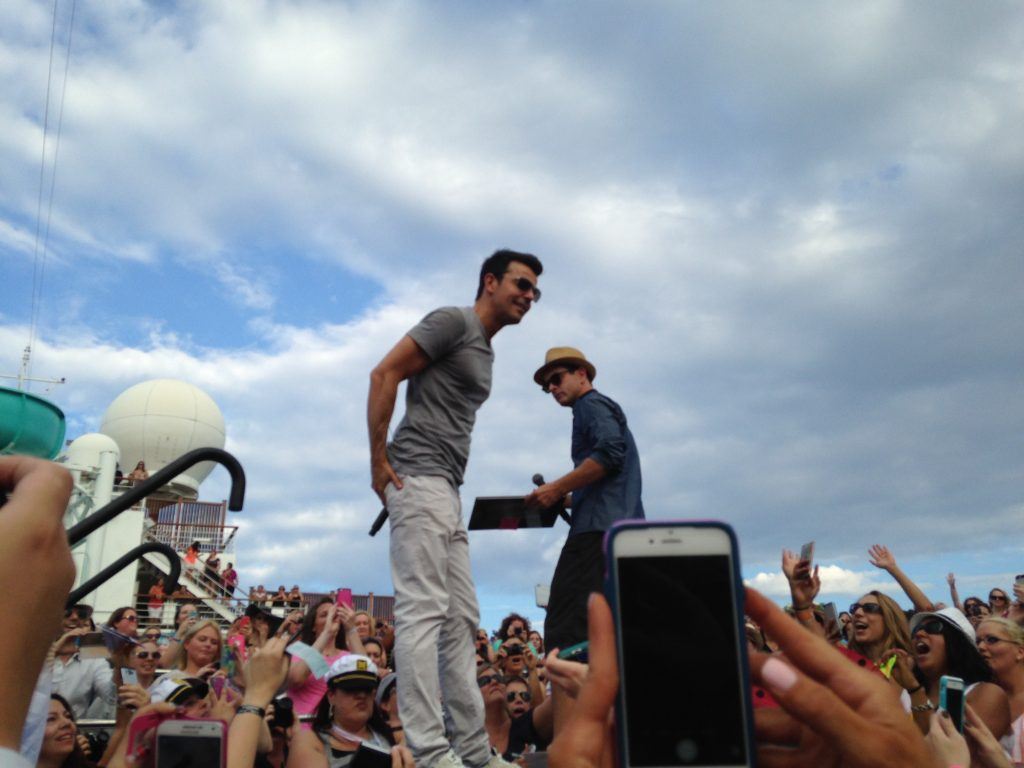 NKOTB On Stage photo