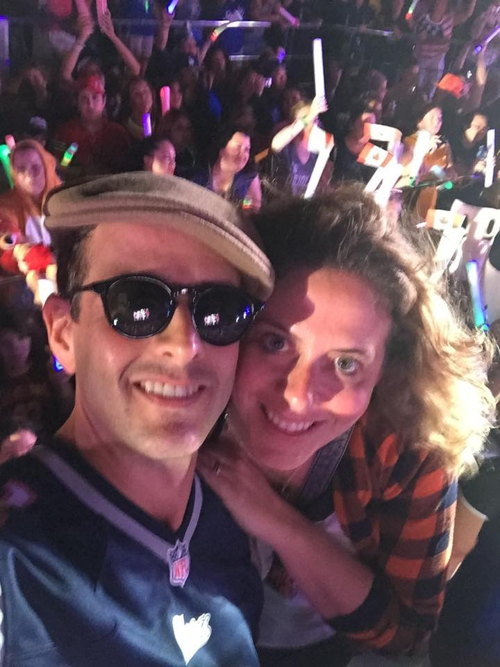 NKOTB selfie Emily photo