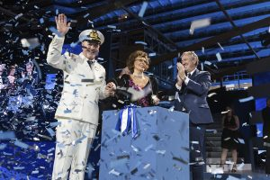Sophia Loren christens MSC Seaside