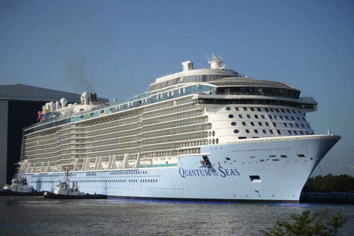Cruise News - August 15, 2014 - Porthole CruiseQuantum Of The Seas Float Out