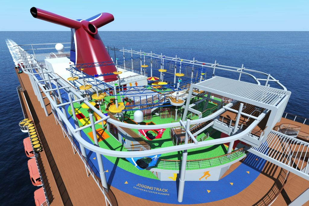 Carnival Vista to debut with first-of-its-kind family ...