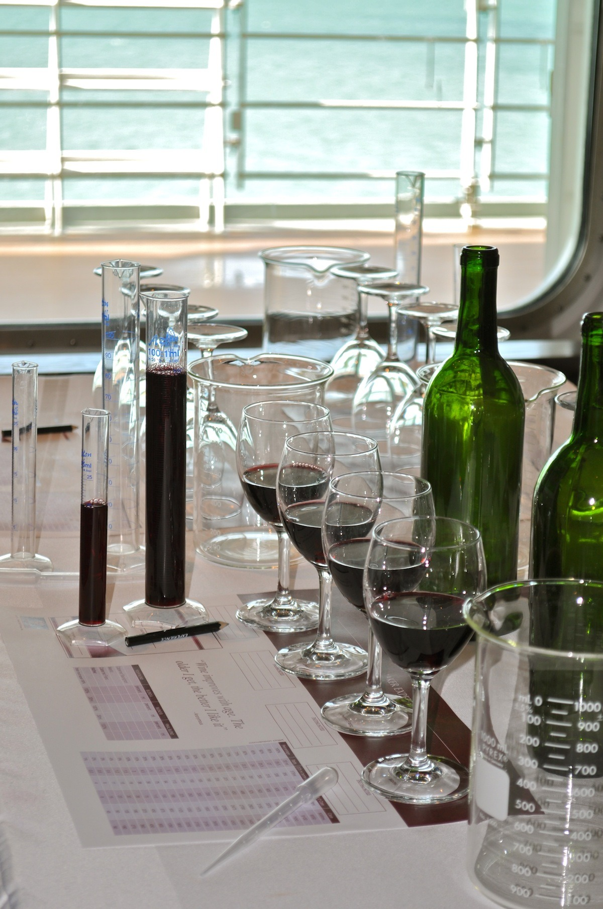 MSC Wine Place Setting