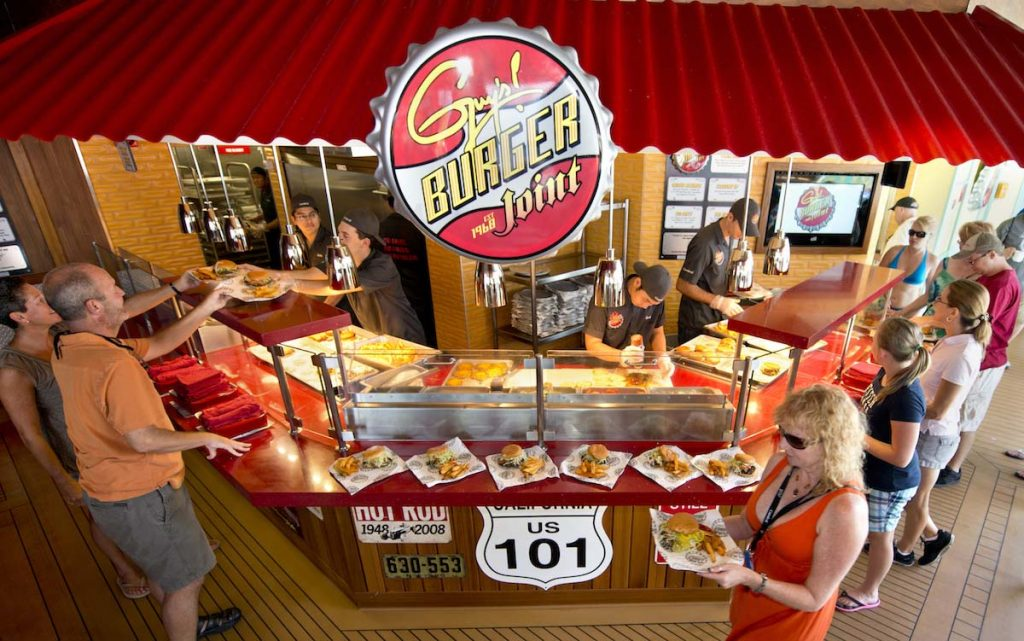 Guys Burger Joint Carnival Cruise Line