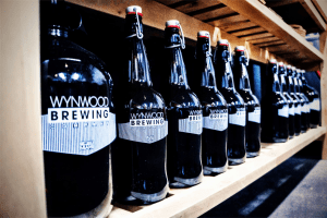 Growlers at Wynwood Brewing Company