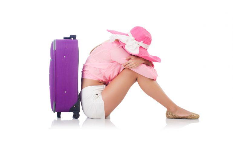 The traveler withdraws.