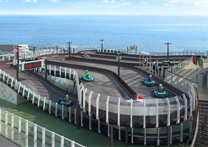 First Racetrack at Sea
