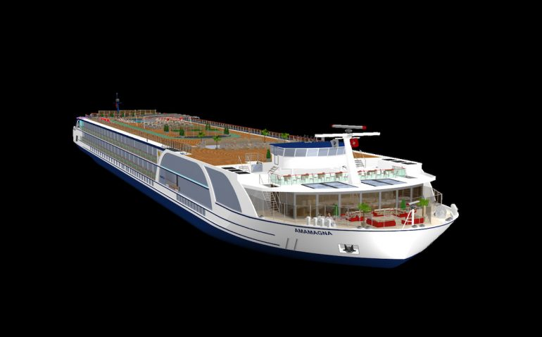AmaMagna, the new ship concept for AmaWaterways