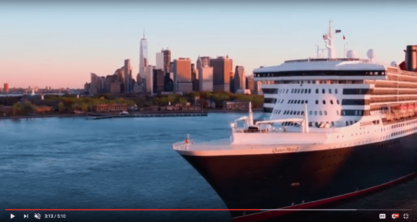 Micky Arison Celebrates Cunard and QM2