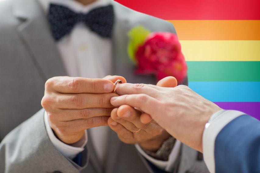 Gay Cruise Wedding