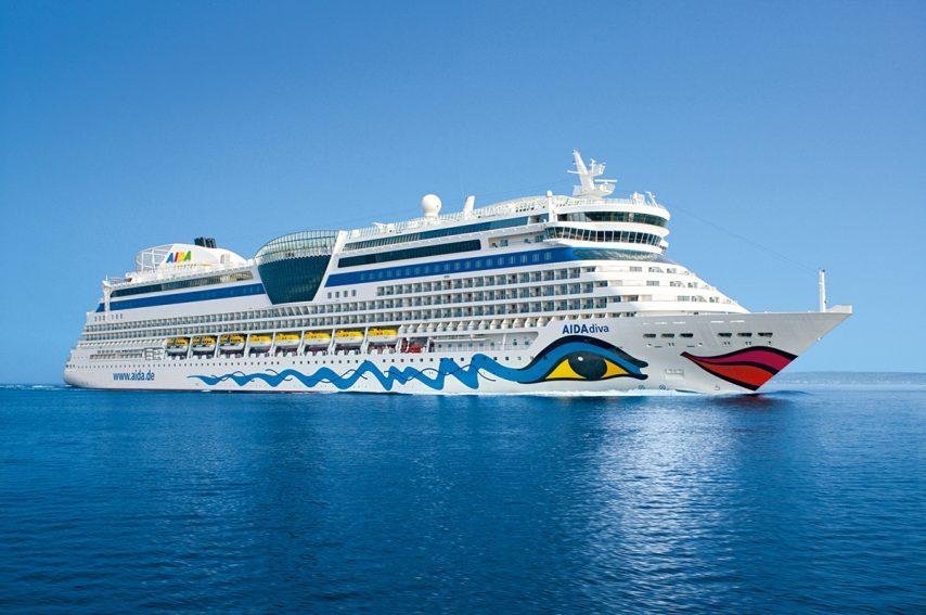 cruise ship hull art