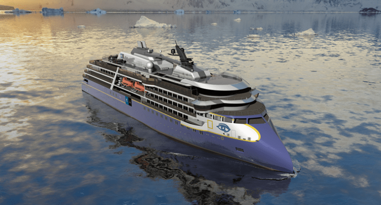 Lindblad's upcoming polar vessel