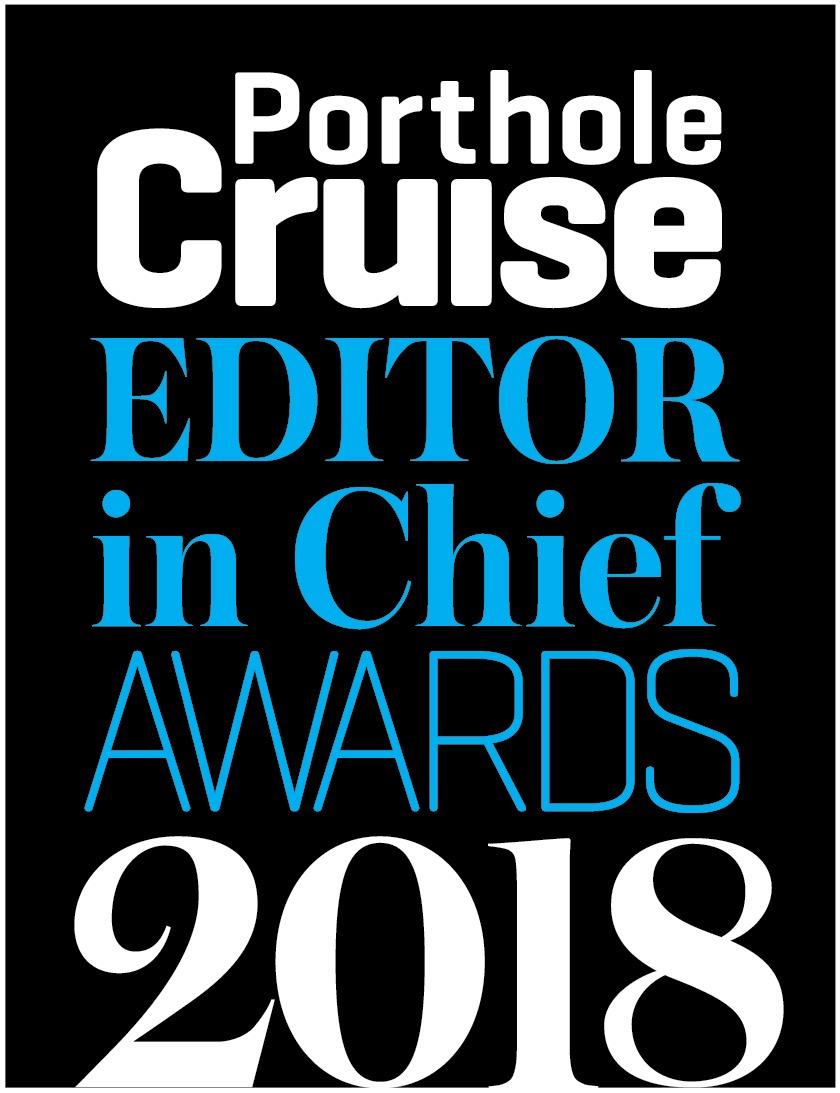 2018 Porthole Cruise Magazine Editor in Chief Awards