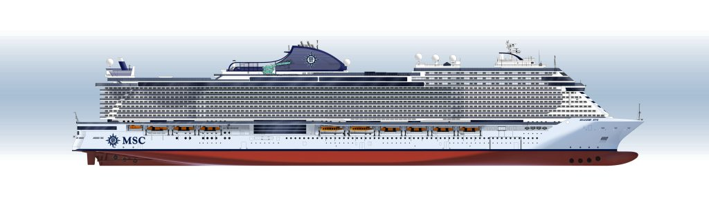 MSC Seaside EVO class.