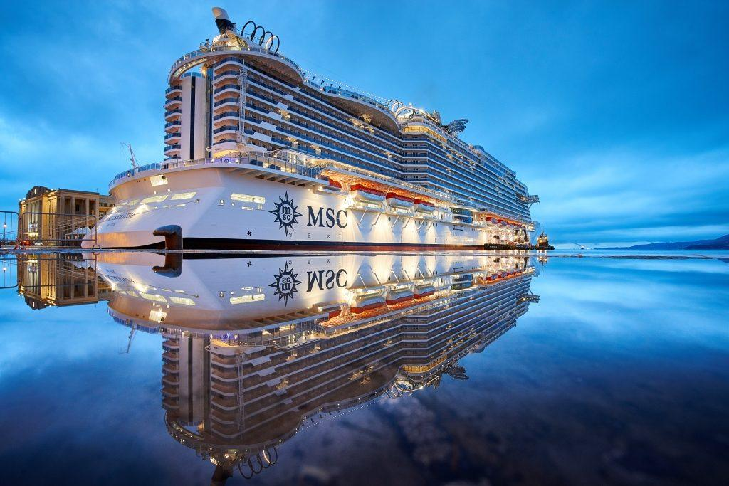 Msc Seaside The Ship That Follows The Sun Christened