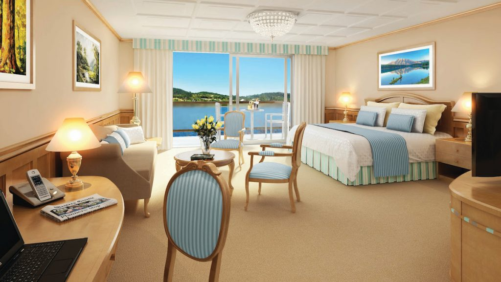 Staterooms aboard American Constellation