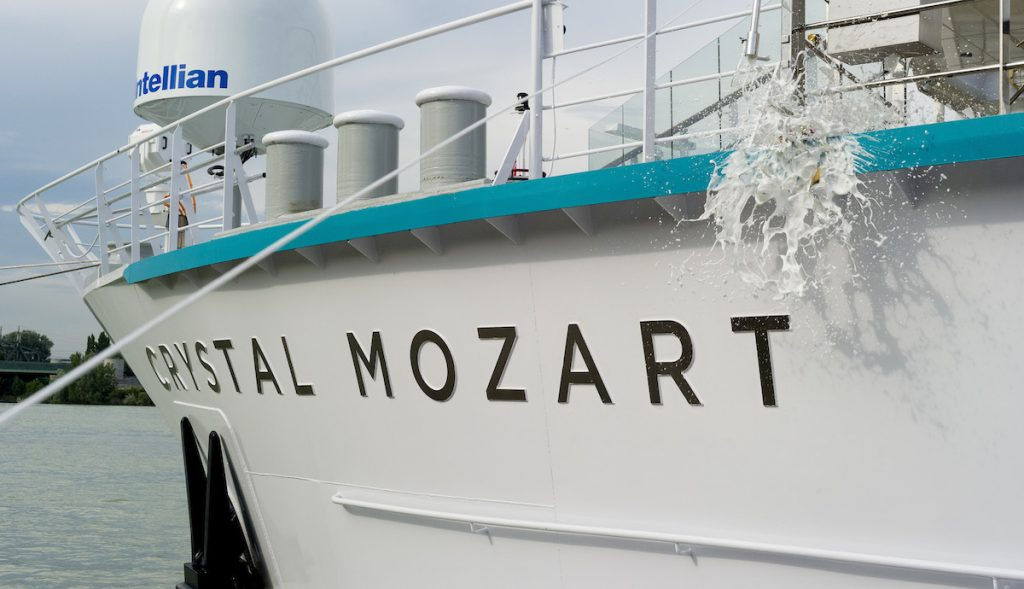 Crystal Mozart Christening Signifies Official Launch Of Crystal River Cruises