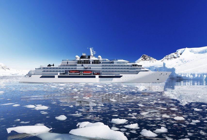 Crystal Yacht Cruises' polar-class megayacht