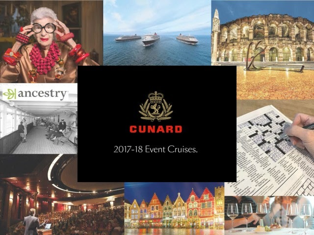 Cunard's 10 Special Event Cruises