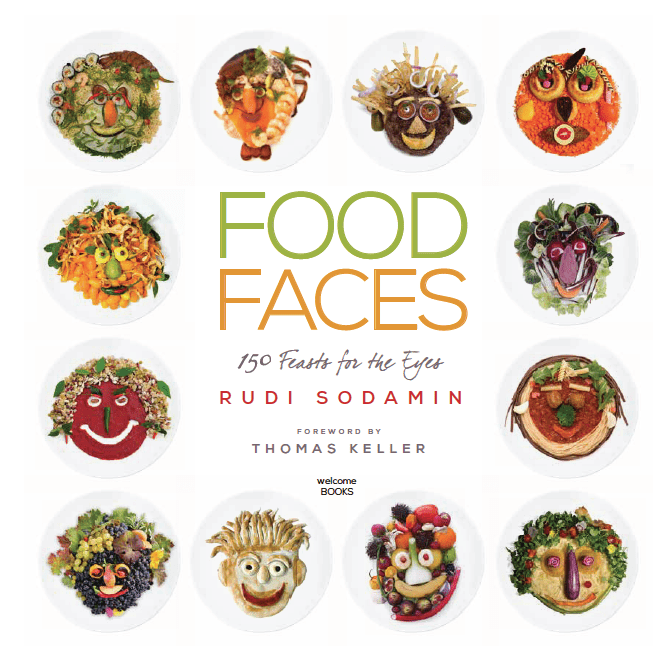 Food Faces, by Rudi Sodamin