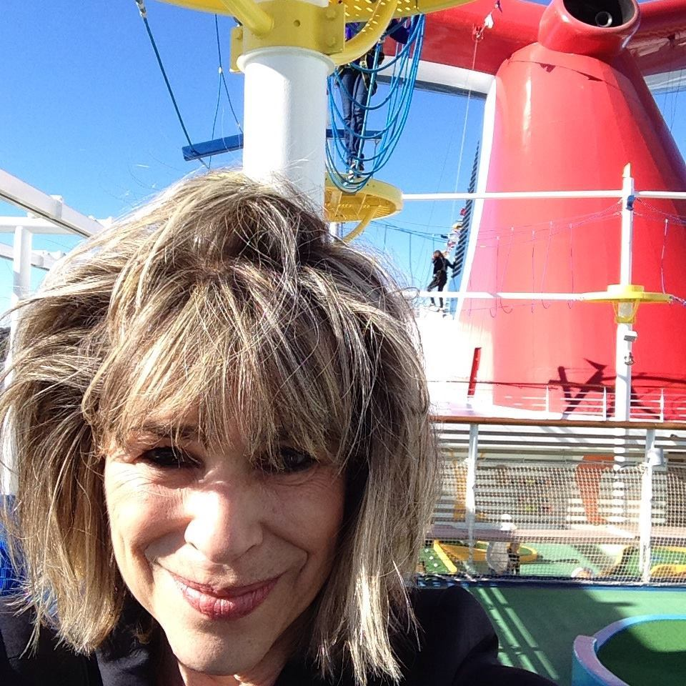 Judi Cuervo is overwhelmed by Carnival Vista's everything options.