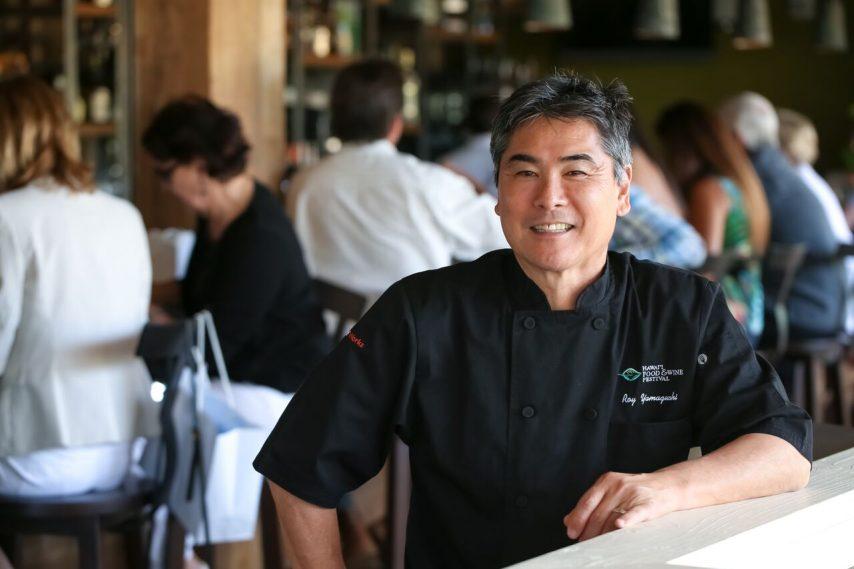 celebrity chef Roy Yamaguch