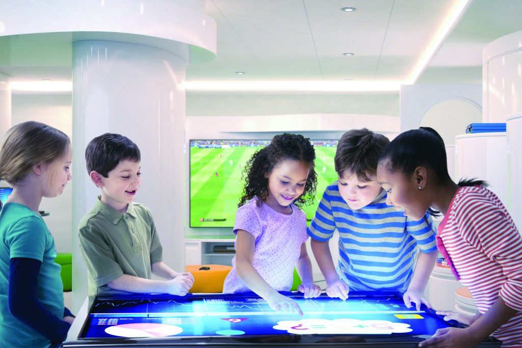 Guests of all ages can access MSC Cruises' new technology.