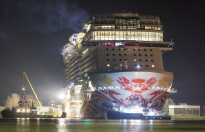 Norwegian Joy is ready to head to Shanghai.