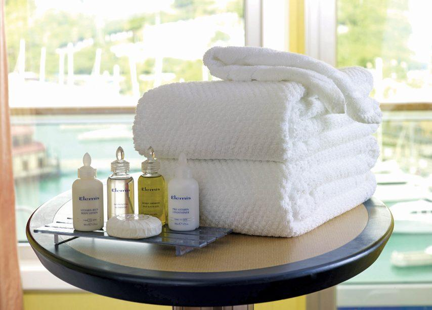 Best Bath Amenities at Sea