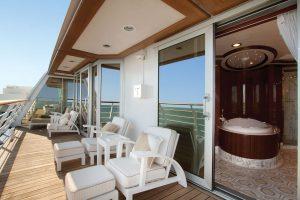 Oceania Cruises Owner's Suite Balcony