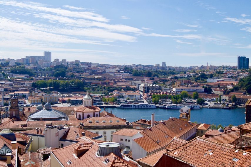 The Douro River in Porto