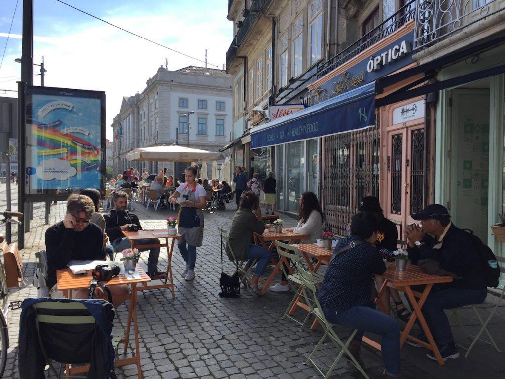Dining in Porto