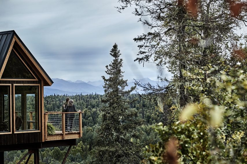 Mt. McKinley Princess Wilderness Lodge Treehouse