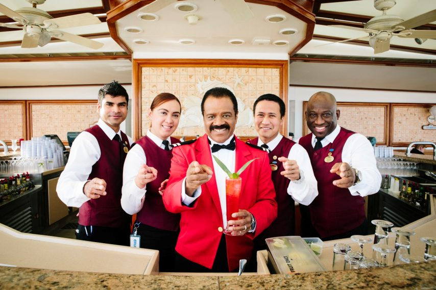 "Ted Lange ""The Isaac"" Cocktail Shoot Aboard Crown Princess"