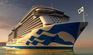 majestic princess in new livery
