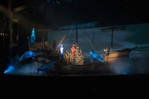 Columbus The Musical in the Royal Theatre.