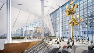 Royal Caribbean's new Oasis-class-ready Terminal A at PortMiami