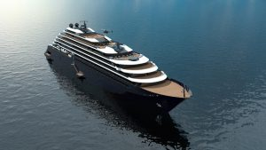 The Ritz-Carlton Yacht Collection's new, 190-meter ship