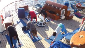 Yoga on Star Clippers