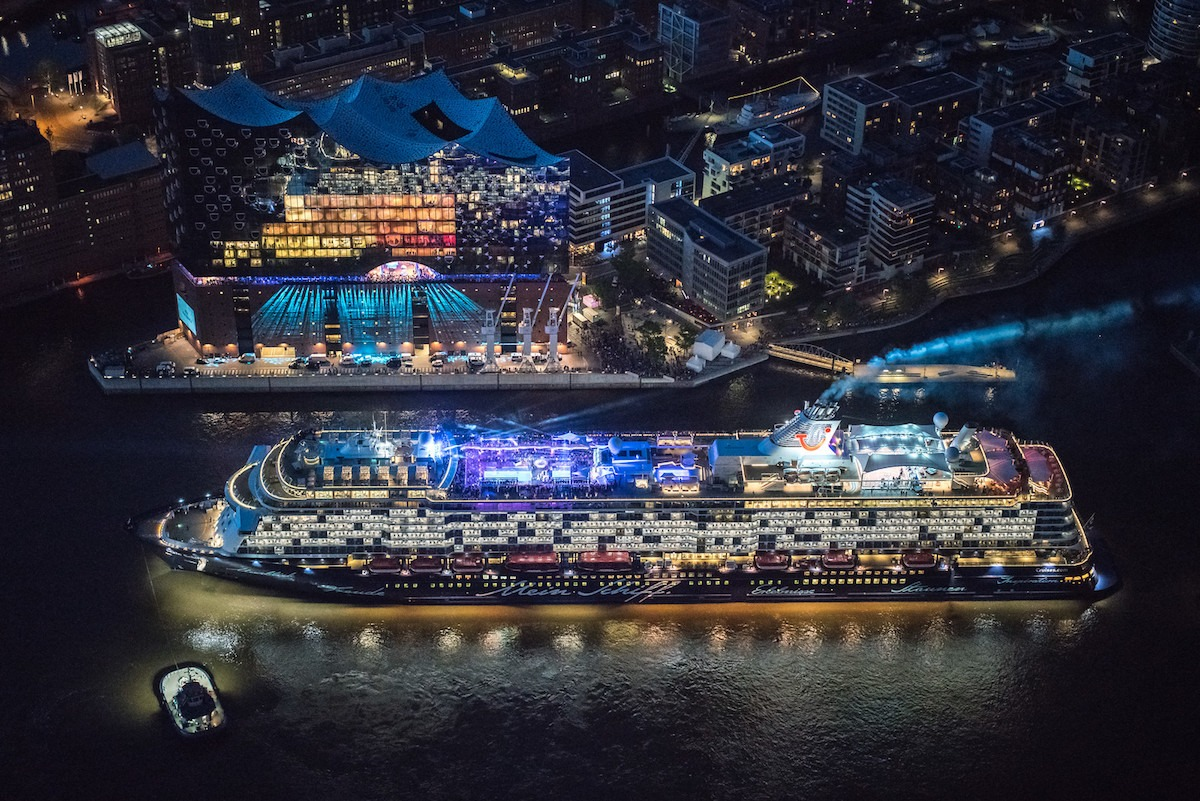 Mein Schiff 6 launches in Hamburg