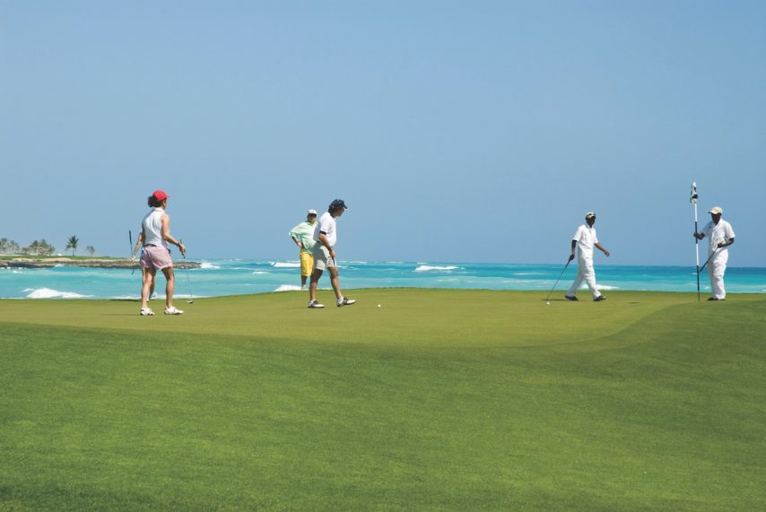 Golfing in Punta Cana, Dominican Republic