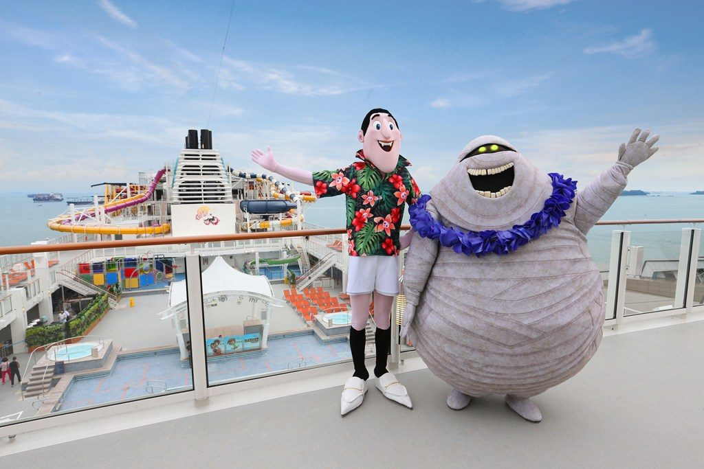 Picture Entertainment This Summer To Offer A Theme Cruise With Spooky Side Guests Aboard Two Of Dream Cruises Ships Genting And World