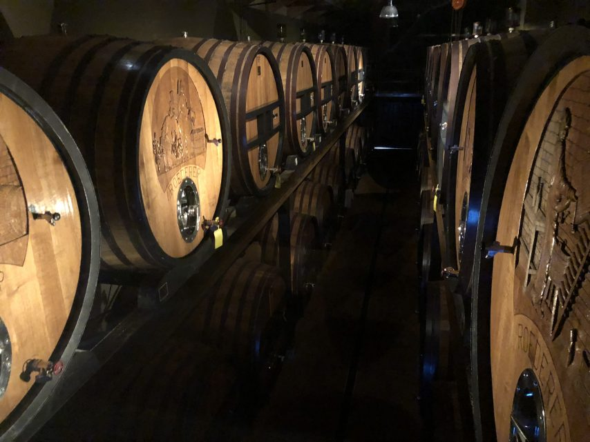 Roederer Estate casks