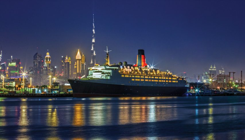 QE2 as a hotel in Dubai | QE2