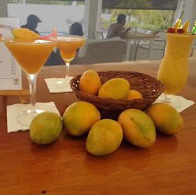 Montpelier Mango Martini