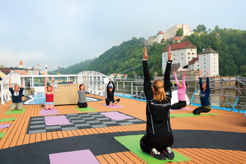 Wellness on Upper Deck - Passau Germany AmaLea - Amawaterways