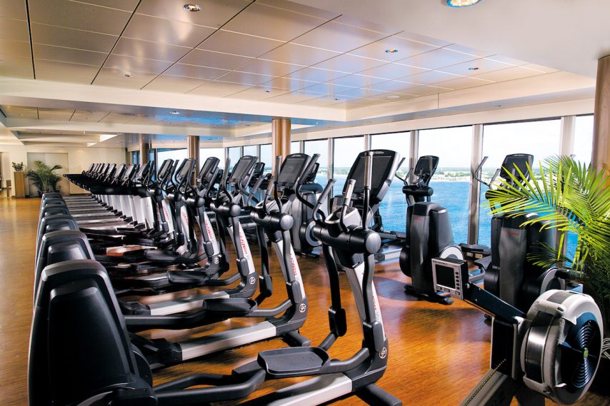 Norwegian Epic fitness center