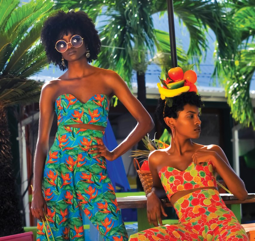 Always Leid Caribbean fashion designs