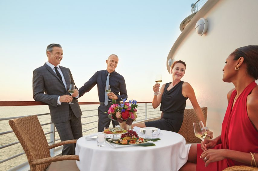 Seabourn cruists to the Middle East